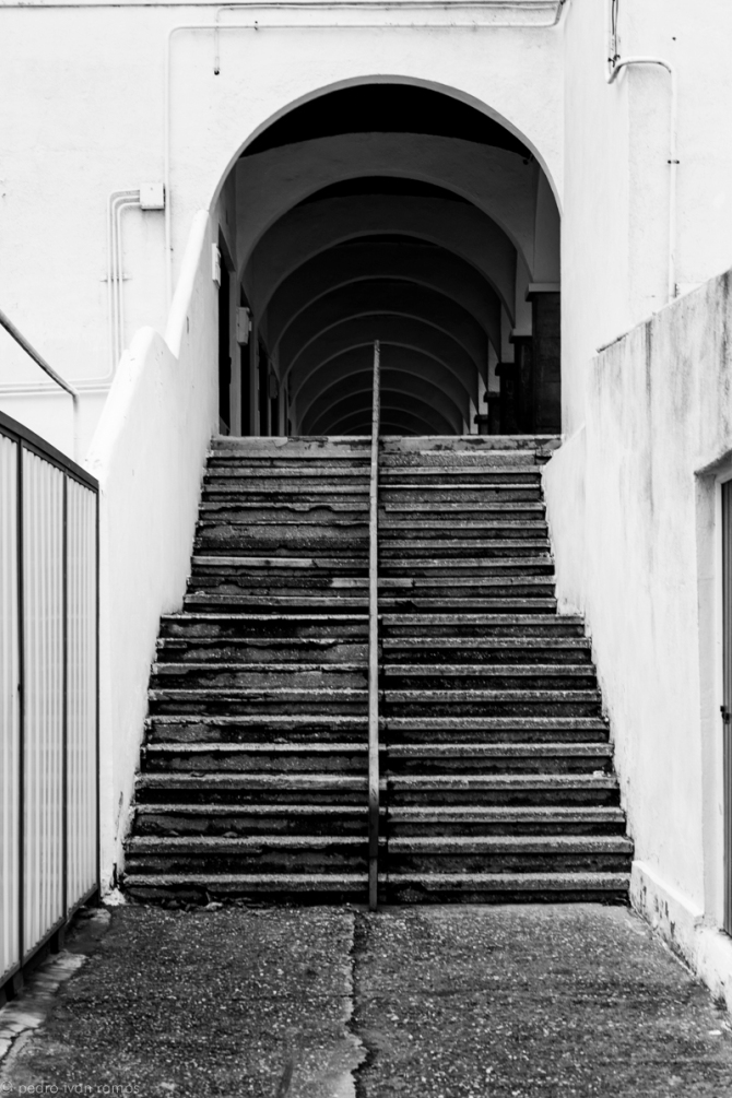 Escaleras hacia arriba