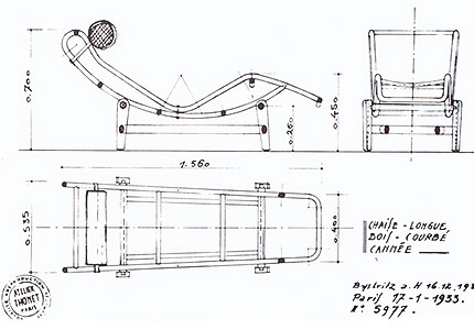 prototipo para Thonet en madera