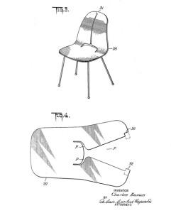 primera patente de silla monocarcasa en contrachapado